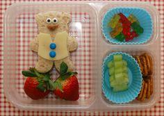 Teddy bear lunch