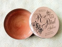 rose petal salve - a must!