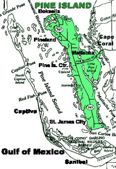 Pine Island Map
