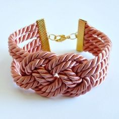 An easy tutorial for making sweet knotted bracelets in cheery colors.  Perfect when paired with summer dresses!