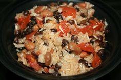 brown rice, rice recipes, black beans, crock pots, pinto beans, slow cooking, crockpot bean, crockpot recipes, slow cooker