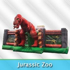 Amazing Dinosaur Bounce House. Is one located in your town?