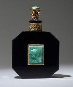 HOFFMAN perfume bottle, circa 1920s,