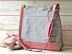 READY TO SHIP // Best Seller  Diaper bag / Messenger by ikabags