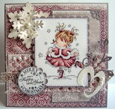LOTV - Christmas Dance by DT Moni - http://www.liliofthevalley.co.uk/acatalog/Stamp_-_Christmas_Dance.html