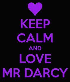 ... Love Mr Darcy