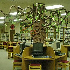 Image detail for -Gene Howe Elementary Library Library