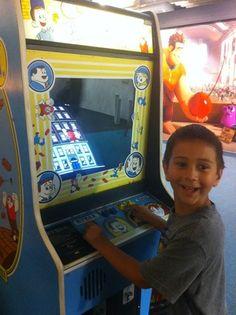 My son playing Fix It Felix Jr Videogame