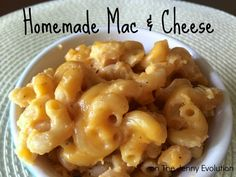 Homemade Mac & Cheese Recipe | The Jenny Evolution #recipe #macandcheese