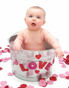 valentines day baby picture