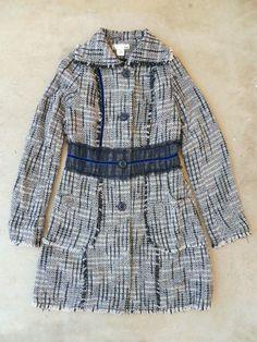 Bouclé and Lace Coat