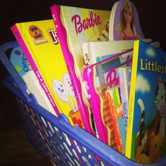 """We shouldn't teach great books; we should teach a love of reading."" - BF Skinner  ♥ my baby's book basket! Keep on reading babe!"