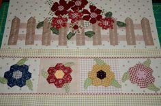 Sew'n Wild Oats quilt border idea for my summer quilt