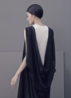 Structured Minimalism Attire : Liao Dan
