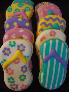 foot cookies -