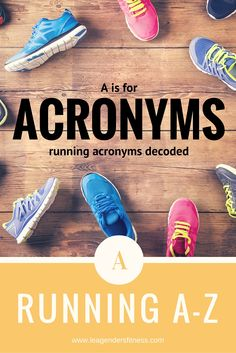 Running A-Z: A is fo