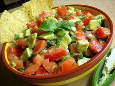 Guacamole Salad - side dish for enchiladas, fajitas, and nachos