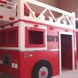 diy furniture, bunk beds, fire trucks, big boys, boy rooms, dream bed, ana white, little boys, kid