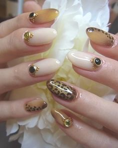 Exotic leopard nail