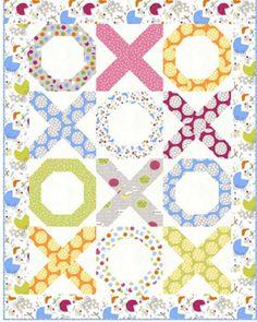 Free Quilt Pattern - Hugs & Kisses Quilt - So Cute