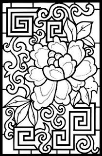 adult color, design color, doodles mandala coloring page, floral color