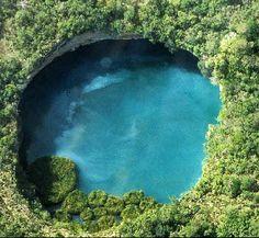 Los cenotes, los pozos sagrados de los mayas