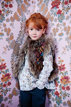 rabbit, antik batik, kids clothes, red hair, girl fashion, children, redheads, antikbatik, kid styles