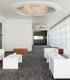 Ten Grand Ballroom Foyer: floor to ceiling windows provide natural light