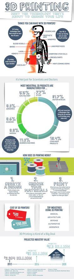 3D printer infographic