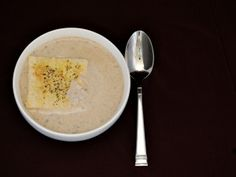 Mushroom and Brie Bisque