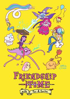 geek, adventur time, stuff, adventure time mlp crossover, broni, ponies, mlp adventure time, friendship time, fim