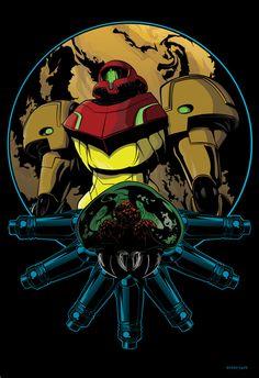 Metroid by JonBolerjack.deviantart.com