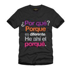 ...Y esta es un de las razones por que nos gustan las camisetas.