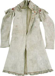 Metis Buckskin coat