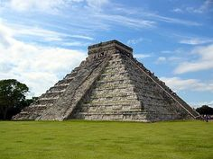 Chichinitza - Cancun - Mexico I hiked this then we went inside just to see a jaguar with gems in its eyes, which was pretty pointless but it was cool seeing the mayan territory