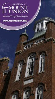 Mount Union College-a Awesome School with Awesome People