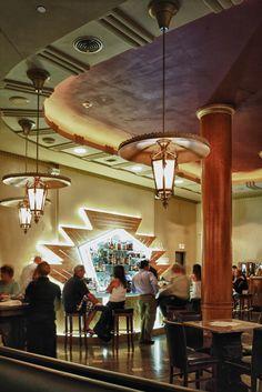 clams, buffalo ny, chowders, clam chowder, mike, hotel, bar, art deco, loung