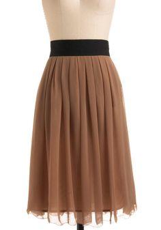 Hot Caramel Skirt