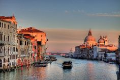 Venice at Sunset-CHECK!