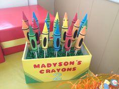 Crayon Cake Pops
