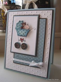 baby cards, joy craft, babi card, paper crafts, embossed cards
