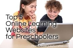 Top 5 Online Learning Websites for Preschool -- Moms Have Questions Too