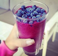 #Blueberry #Smoothy
