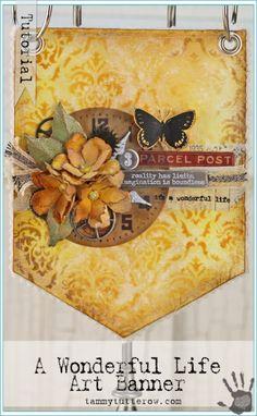 Tammy Tutterow   A Wonderful Life Art Banner