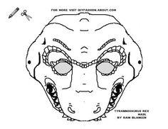 Tyrannosaurus Rex Mask
