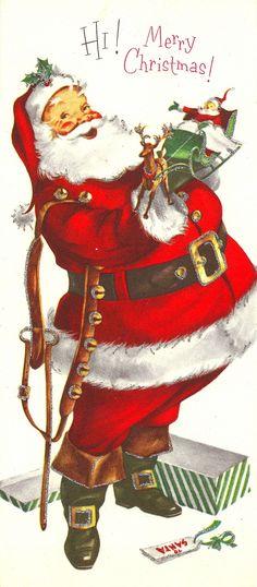 Vintage Santa Claus...
