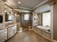 The layout isn't bad, but the shower is too big and I'm not a huge fan of the colors