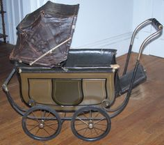 victorian baby buggy | is an beautiful example of prams made between WWI and WWII. This ...