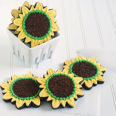 sugar cooki, sunflower dessert, bake, cooki decor, food, sunflowers, sunflow cooki, sun flower, cookies