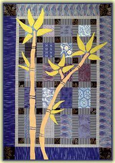 Bamboo quilt by Cheryl Wittmayer